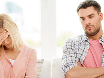 Couple Having Trouble While Listening To Their Mediator