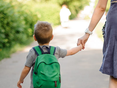mother-and-son-walking
